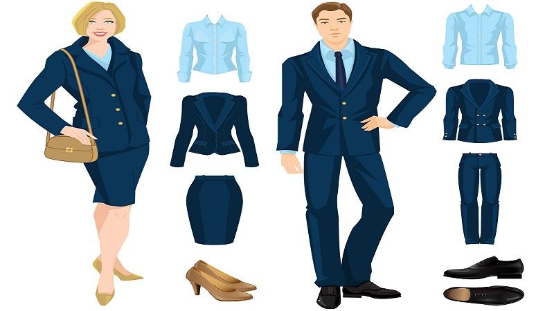 Anwalt Kleiderschrank Beratung von einem Imageberater