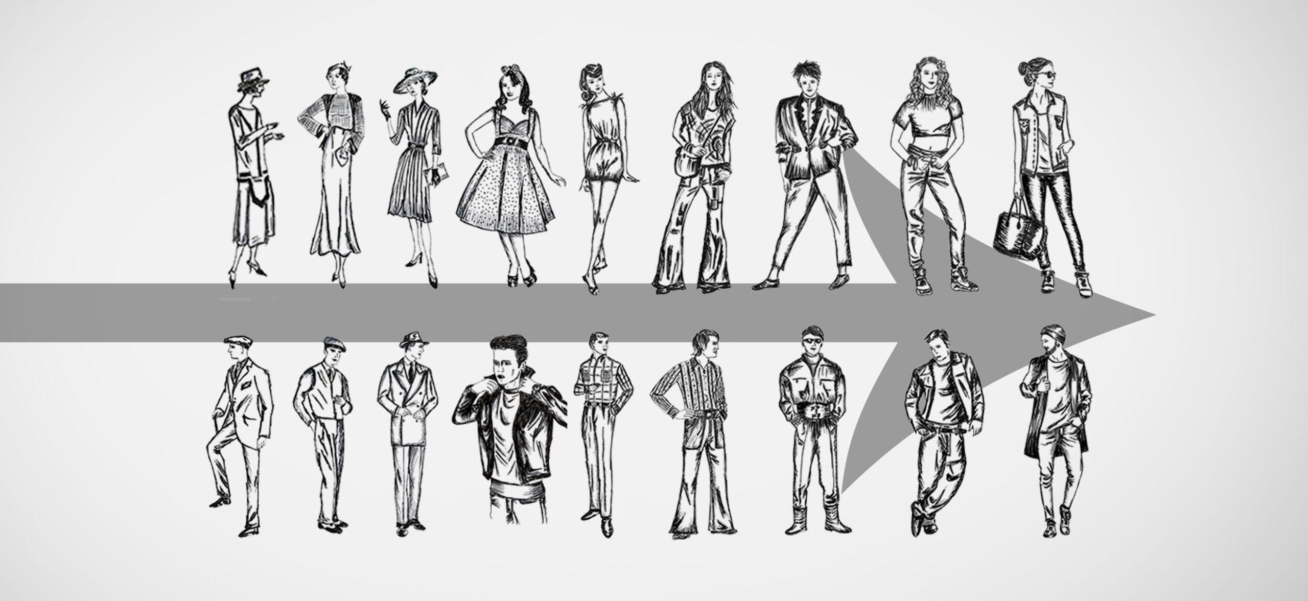 Warum haben Menschen unterschiedliche Modestile?