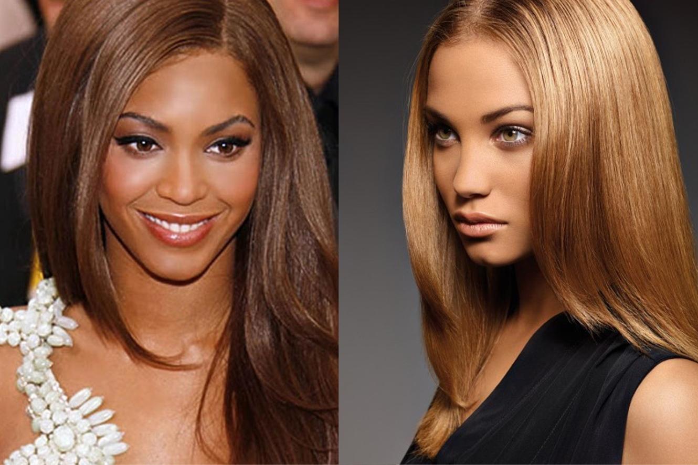 Haarfarben Trends 2020-2021 Karamell fur Langes Haar Langes und karamellfarbenes Haar sieht nicht nur perfekt aus, es erhöht auch die Selektivität der Haltung der Frau. Dieses großartig aussehende Duo ist eher für brünette Frauen geeignet.