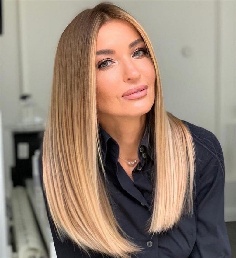 Langhaarfrisuren Schonne Gerade  Wenn Sie ordentlich sein und gepflegt aussehen möchten, empfehlen wir Ihnen, Freizeit- und Abendfrisuren für langes Haar zu verwenden, die mit bekannten Haarstyling-Techniken angehoben und gestylt werden können.