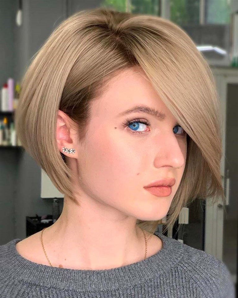 Layered Bob Hairstyles Best Idea He is a fun and rebellious Bob, perfect for minimizing large foreheads. The different layers give dimensionality to the look, which is excellent for special occasions.