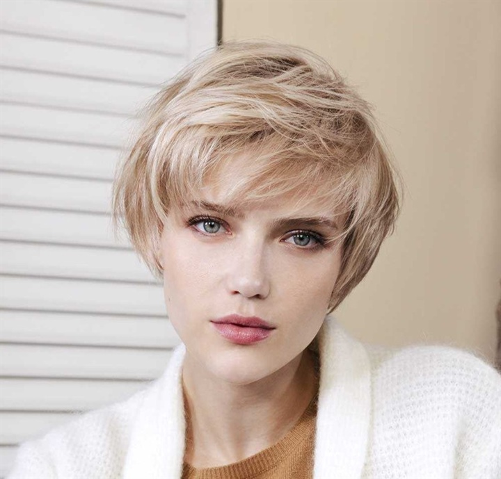 Short Hairstyles For Thin and Pixie Hair  A short haircut on curly hair is anything but boring. Natural curls are always a real eye-catcher and generally represent casualness and informality, but also temperament.