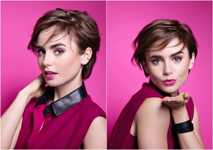Short Hairstyles for Thin Hair Round Faces