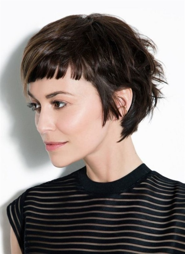 Very Long Pixie Haircut  Decide for yourself whether the stylists have managed to emphasize the female charisma of the models with these short haircuts. And don't forget the following: the first criterion in choosing a hairstyle should be whether you feel comfortable with it or not. The fashion trends should only come after that. But it should never be a must for you to obey them completely.
