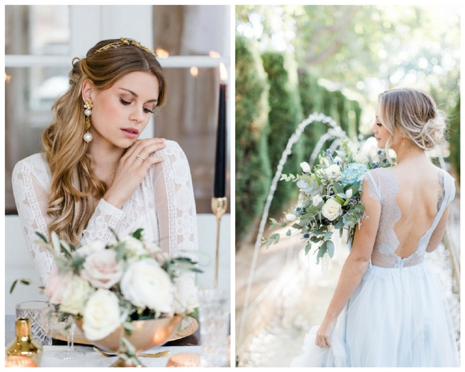Wedding Hairstyles for Long Hair  If women with long hair want to prefer slightly messy and more natural hair, this model is for you.