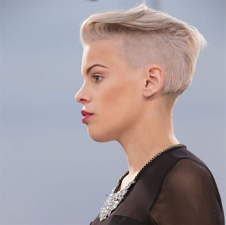Best Short Hairstyles Side Shaved  We recommend this haircut for women who want a difference.