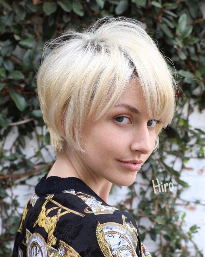Kurze Haarschnitte fur Winter Damen  Pixies sehen so gut aus, egal ob sie lang oder kurz sind, und das Foto unten ist das beste Beispiel.