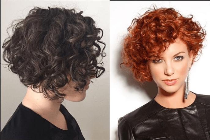 Kurzhaarfrisuren 2020 Naturlocken Haarschnitte  Feuerrot passt sehr gut zu Ihrer lockigen Frisur. Probieren Sie es auch aus.