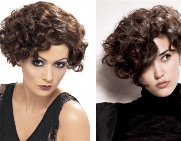 Kurzhaarfrisuren 2020 Naturlocken  Für Frauen mit lockigem Haar; kurze lockige Frisuren sind nicht so fremd.