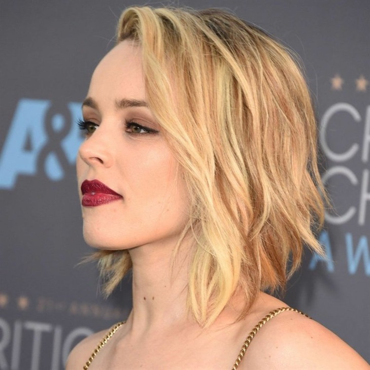 Bob Hairstyles 2020 for Blonde Hair  Celebrities prefer a bob haircut. This model with a layered cut, slightly wavy, is highly preferred.