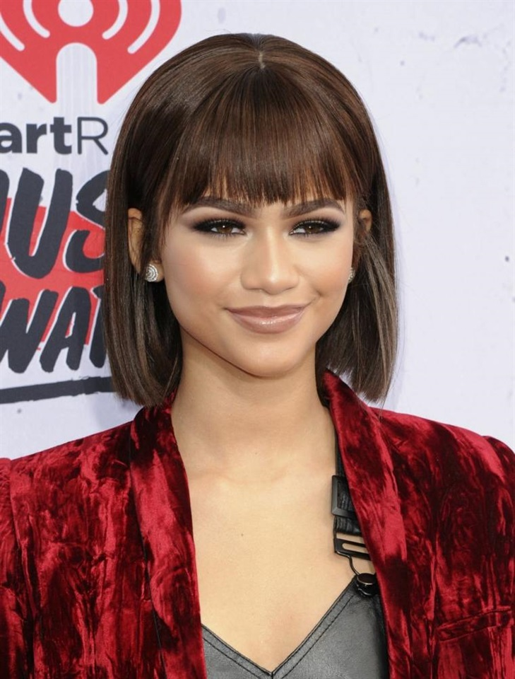 Bob Hairstyles 2020 for Women  Hair with bangs is indispensable for a bob cut. Very stylish and elegant appearance.