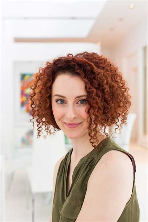 Bob Hairstyles Curly Hair If you want, you can also apply a bob haircut to your curly hair. A new and fresh look.