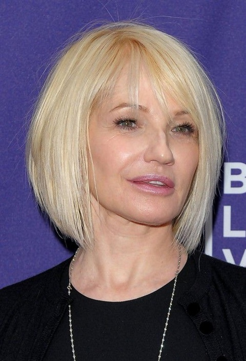 Bob Hairstyles for Over 50 Bob haircuts appeal to women of all ages. It is very trendy these days, especially for women over the age of 50.