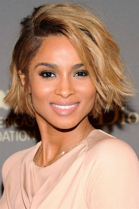 Bob hairstyles Curly Weave Sleek bob hairstyles 2020 are also a salvation for curl owners who are looking for this very perfect hairstyle, at least simplifying everyday worries with naughty barrels.
