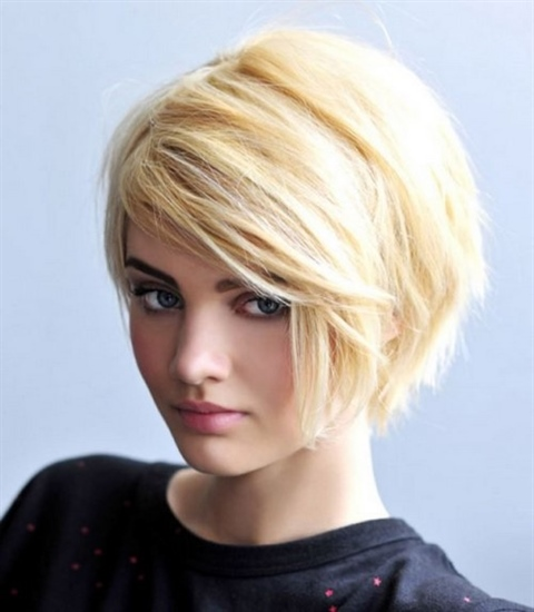 Short Bob Hairstyles with Fringe Only the average bob 2020-2021 is an original solution for women with hair of any type.