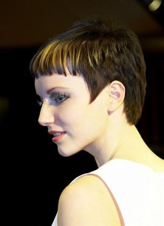 Short Haircut Styles with Bangs