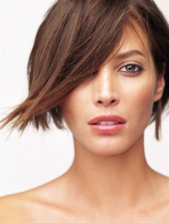 Short Hairstyles 2020 for Thick Hair Thick hair is thinned or milled a little to create the correct haircut. And thin porous hair looks more voluminous after it.