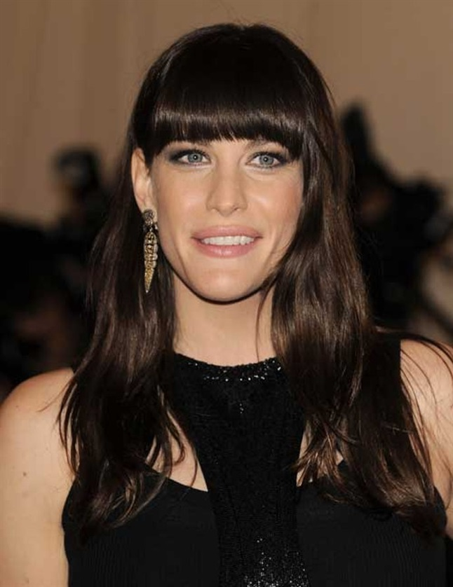 Layered Hairstyles with Bangs Liv Tyler