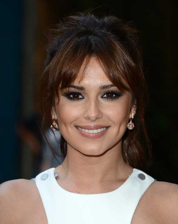 Ponytail Hairstyles with Bangs A curtain fringe is a good bet if you do not want to go all in on the fringe look. Here it is singer and TV host Cheryl Cole wearing the bangs, which is split in the middle.