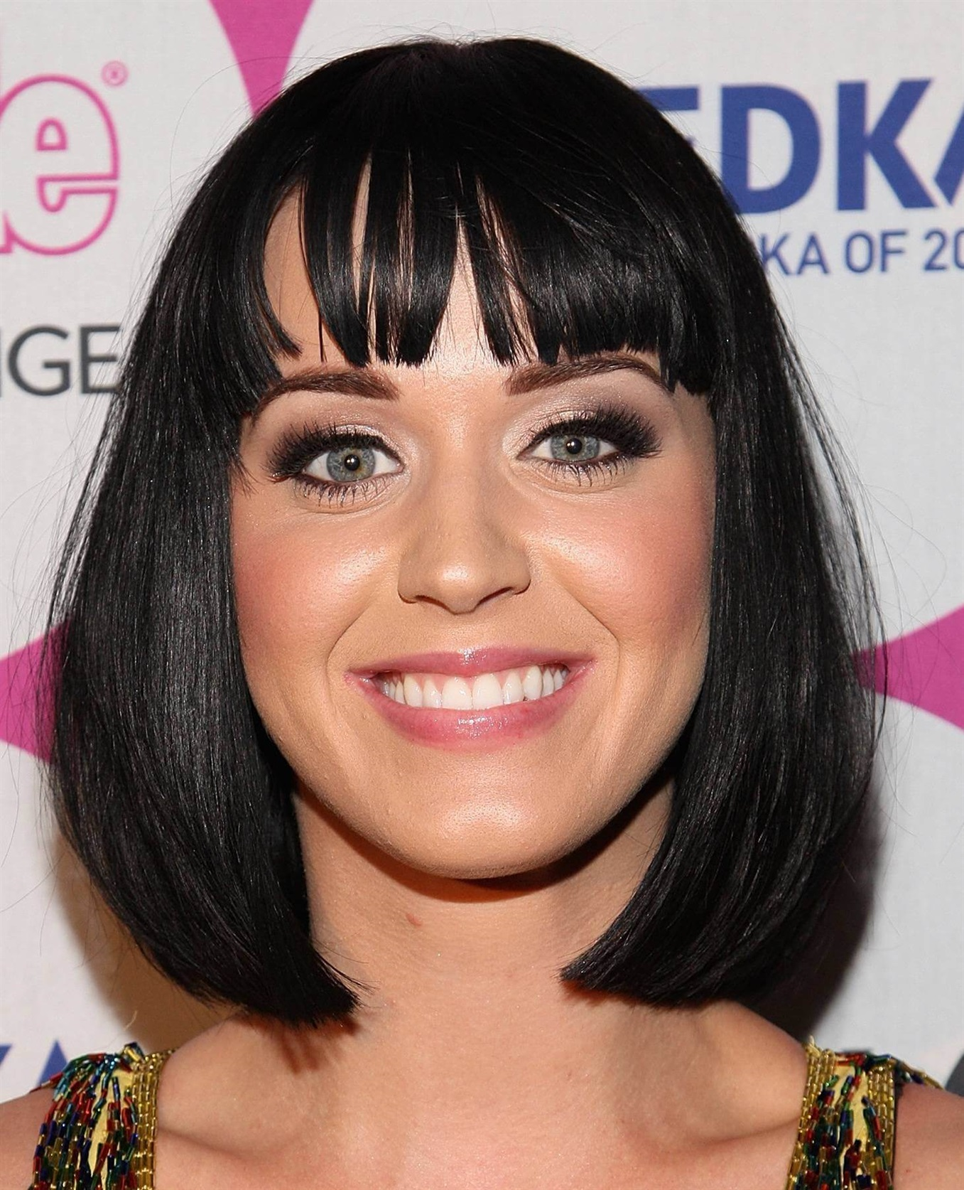 Bob Hairstyles 2021 Katy Perry Our suggestion for a bob haircut for black and bangs is again from Katy. You can definitely be brave too. Bob hairstyles are indispensable for women.