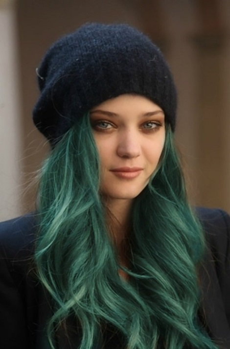Hair Colour Ideas 2021 Green Green hair color is generally preferred for long hair. And it works in harmony with black tones. Although it is very popular, it has a full spring hair feel. Still popular with young women