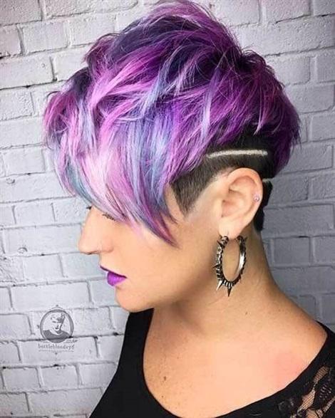 Hair Colour Ideas Short Layered Hair