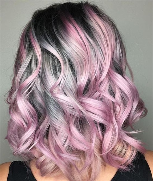 Hair Colour Ideas for Long Hairstyles