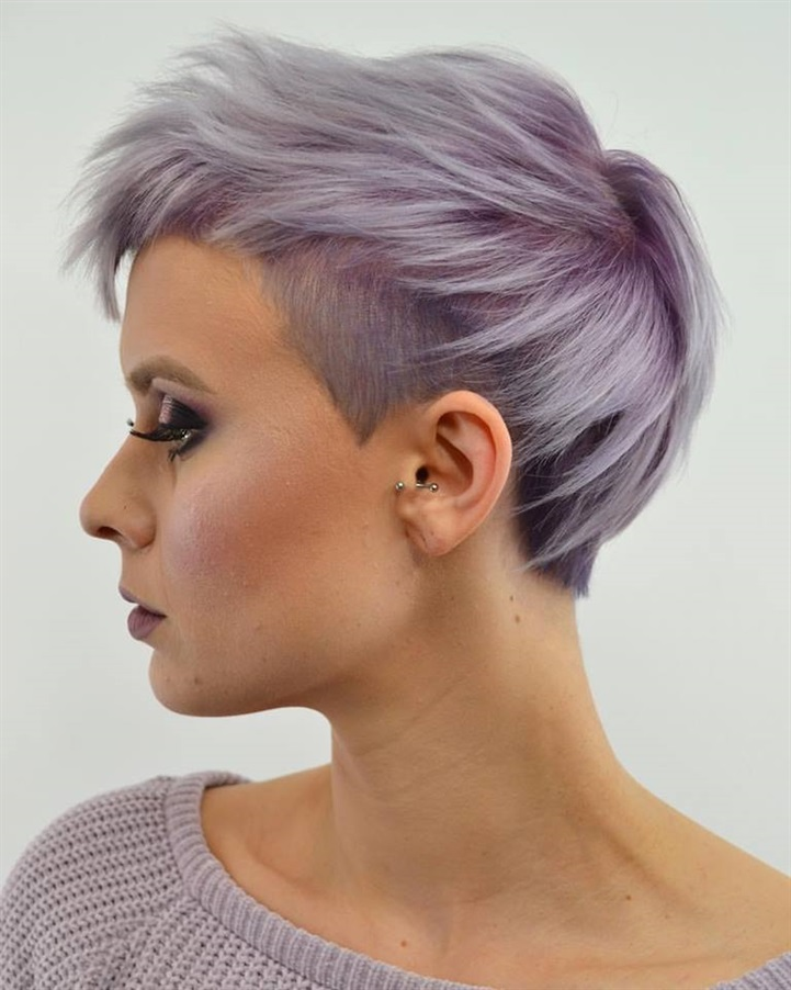 Hair Colour Ideas for Short Hairstyles