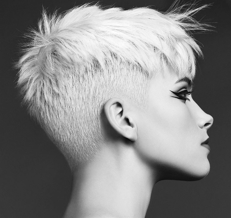 New Short Hair Style For Ladies A pixie model with shaved sides will also suit you. Don't be afraid to experiment. With the help of experienced hairdressers, you will look great.