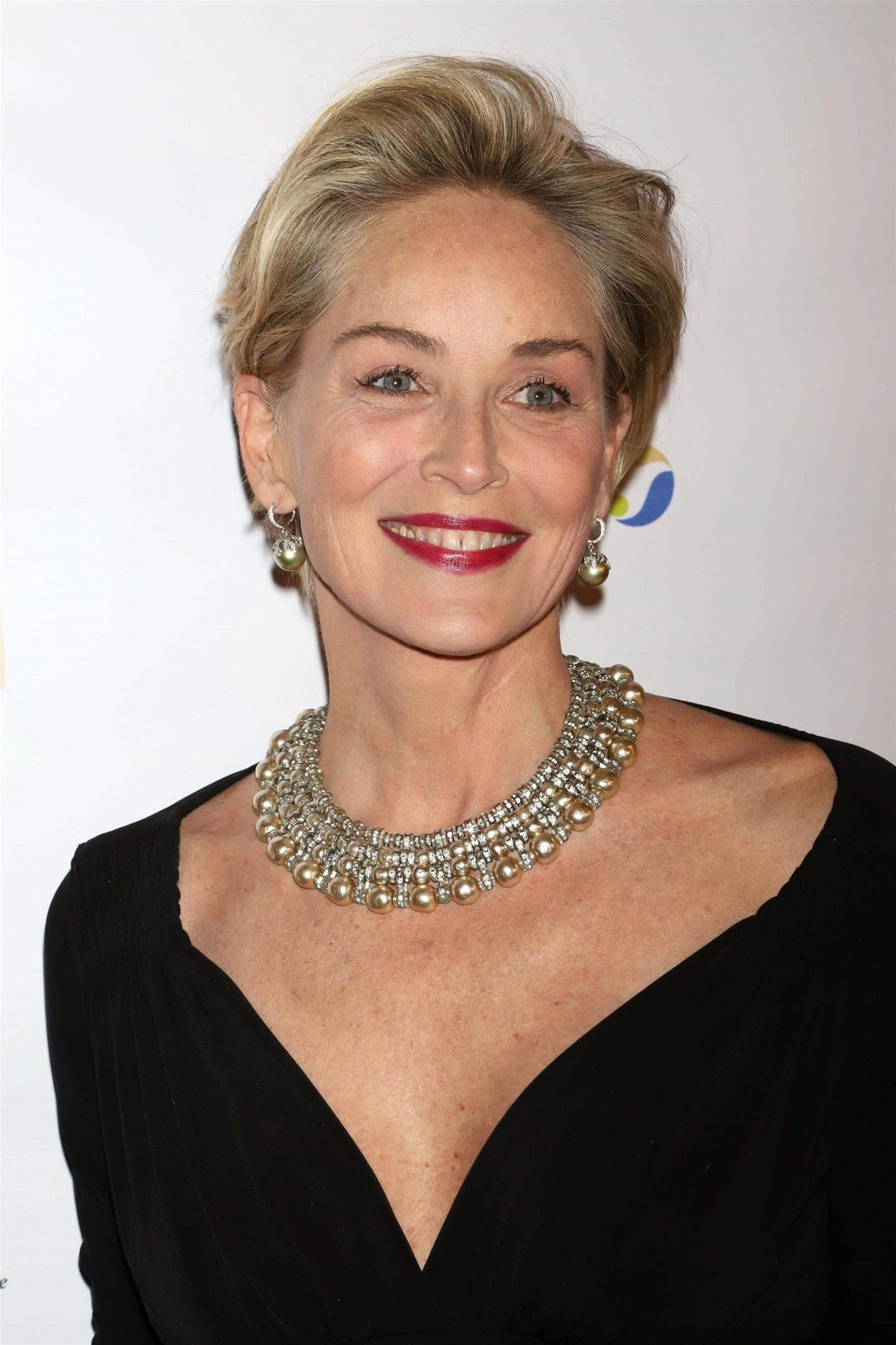 New Short Hair Style Sharoon Stone  Sharon Stone is an actor who is idol to her peers with her short hair despite her advanced age. Years cannot wear it out.