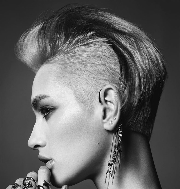 New Short Hair Undercut Style  We will see these models quite a lot in 2021. Be popular around you with short side hairstyles that are very sexy and add charm.