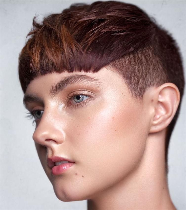 New Trendy Short Hair Style