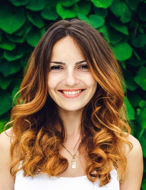 Ombre Curly Hairstyles for Women