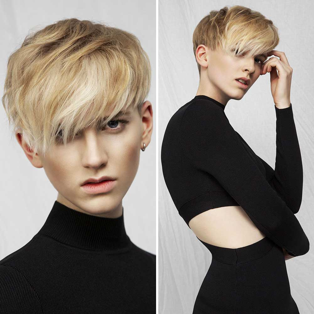 Pixie Short Hairstyles Colours