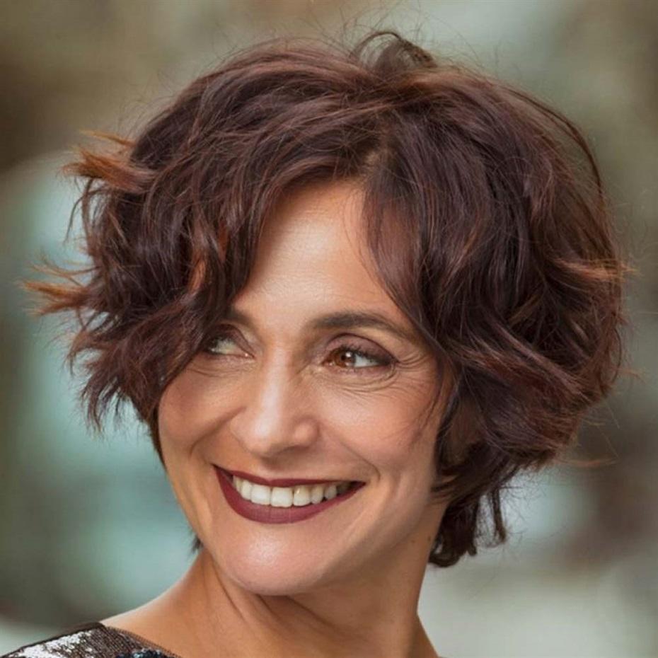 Short Hair Trends 2021 for 50