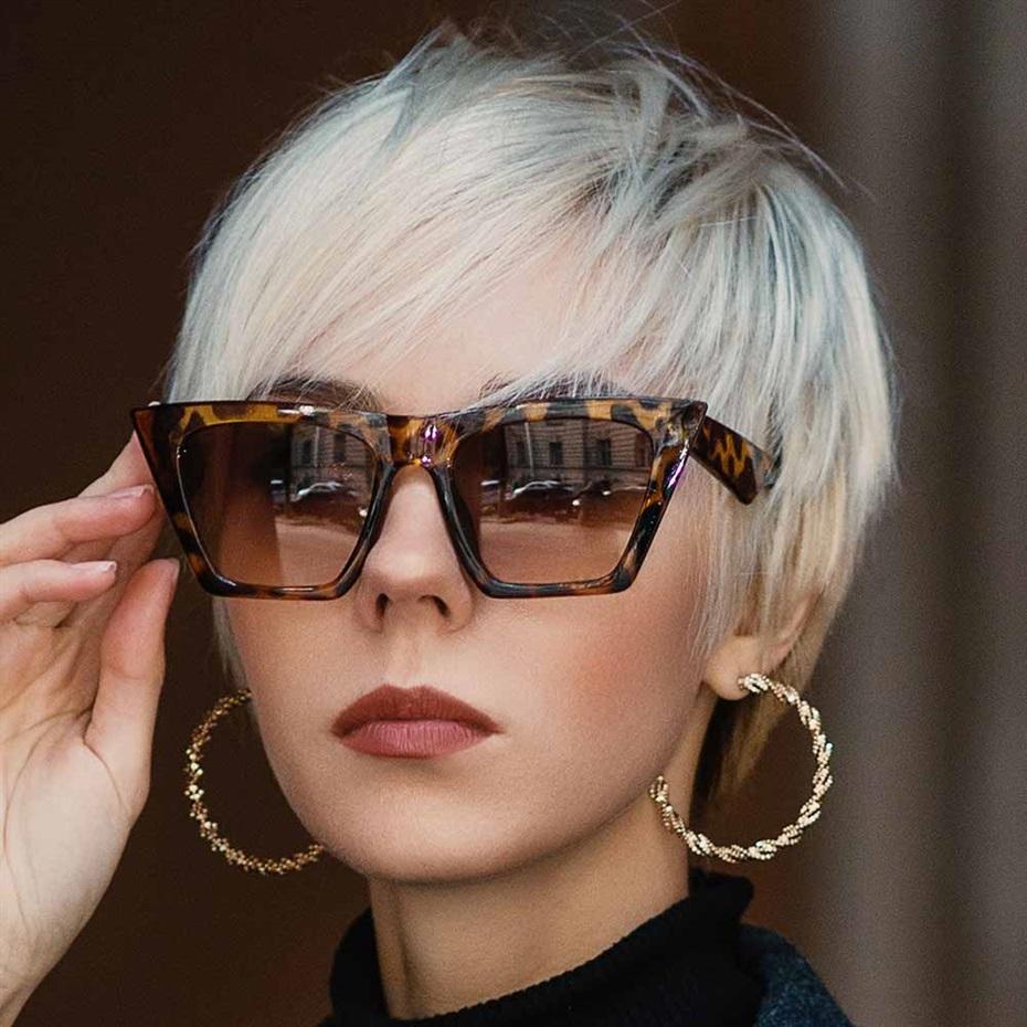 Short Hair Trends 2021 for Glasses Women