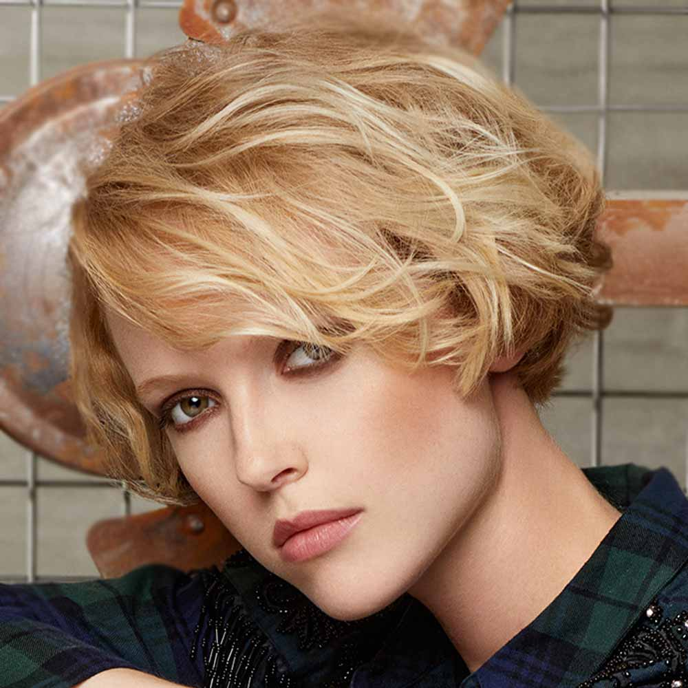Short Hairstyles Colours Blonde