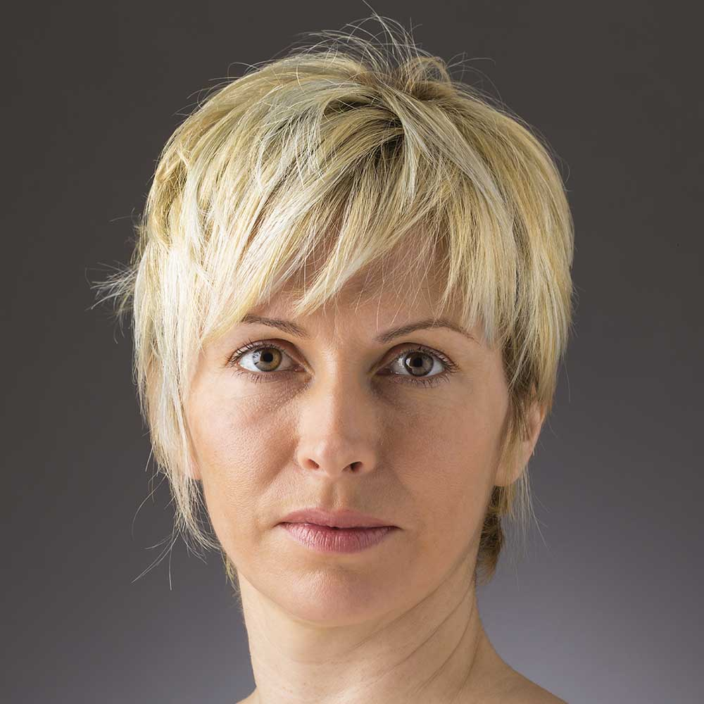 Short Hairstyles Colours Chick Yellow