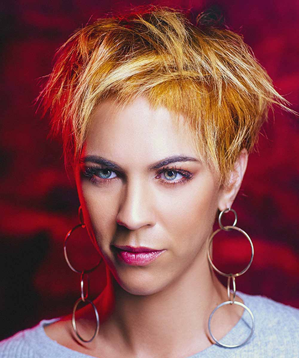 Short Hairstyles Colours Gothic