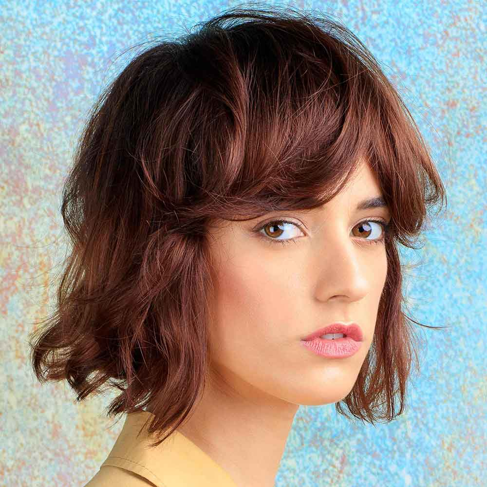 Short Hairstyles Colours Light Red