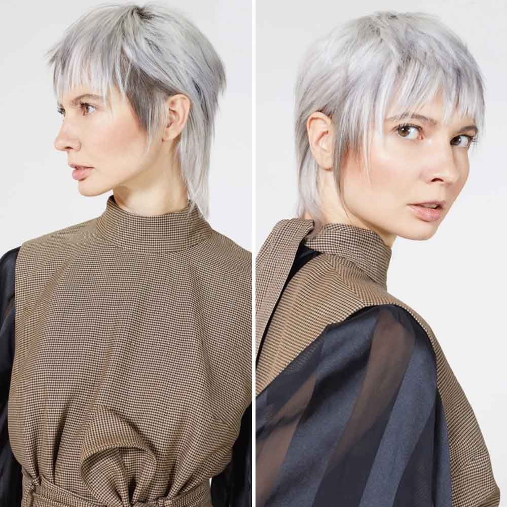 Short Hairstyles Colours Smoke