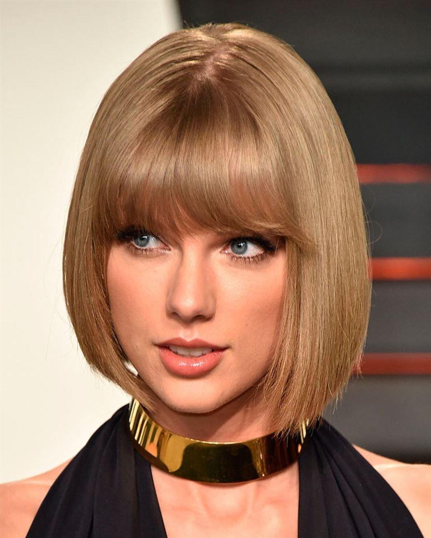 Kleopatra Bob Frisuren Style mit Taylor Swift